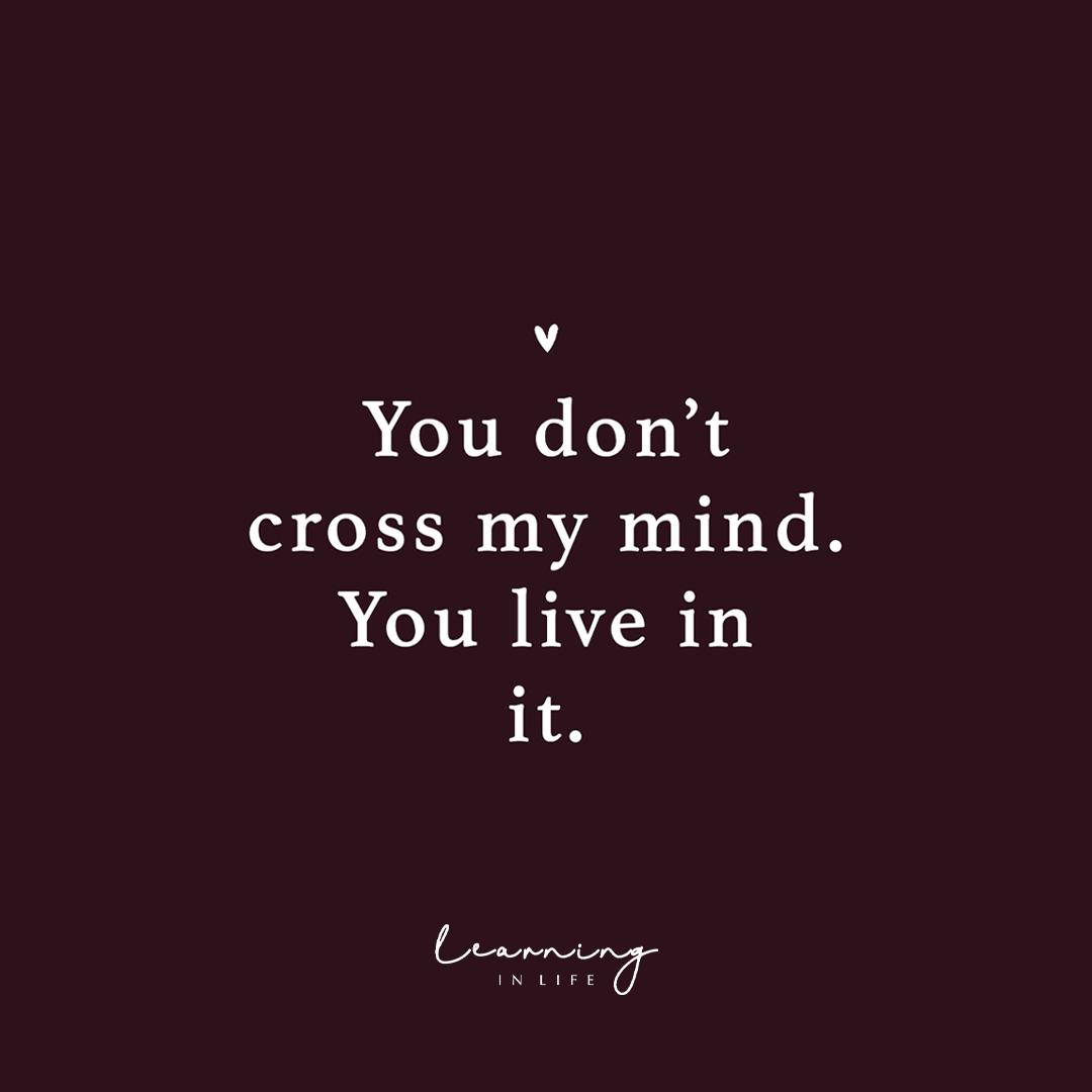 Photo of Cross my mind