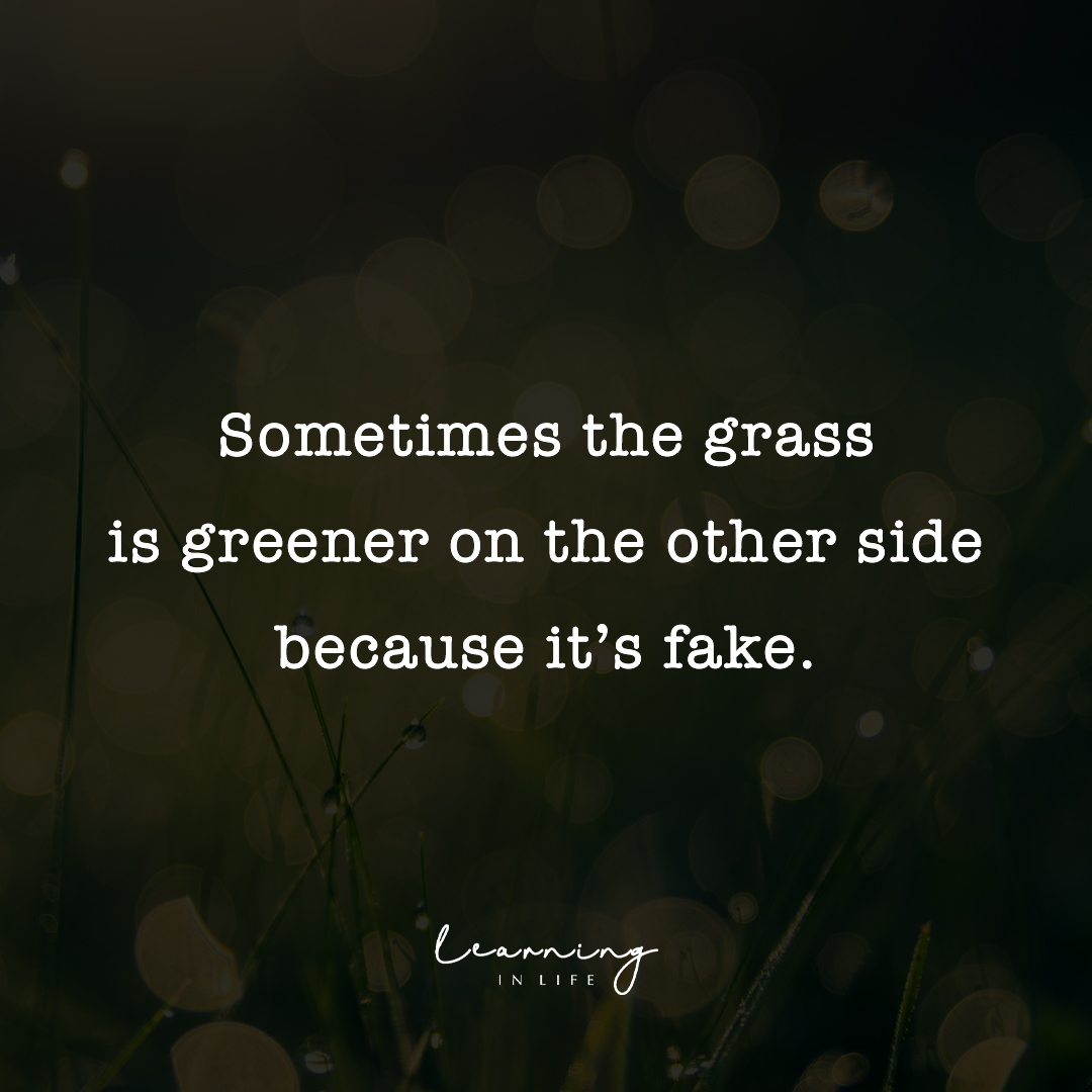 Photo of Grass is Greener